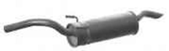 Immagine di SILENZIATORE TERMINALE CITROEN JUMPY FIAT SCUDO PEUGEOT EXPERT 1600 1900 DIESEL