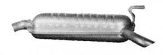 Immagine di SILENZIATORE TERMINALE FIAT BRAVA BRAVO 1400 1900 D