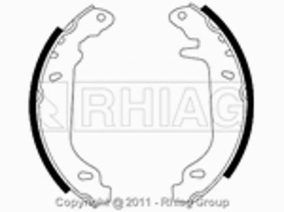 Immagine di GANASCE FRENO RENAULT R11 R19 R21 R9 CLIO SUPER 5 TWINGO
